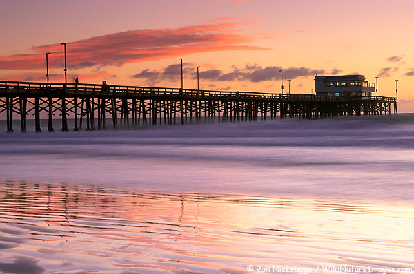 Newport-Pier-Sunset.